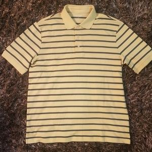 Brand New  Lands' End Yellow Polo T-Shirt
